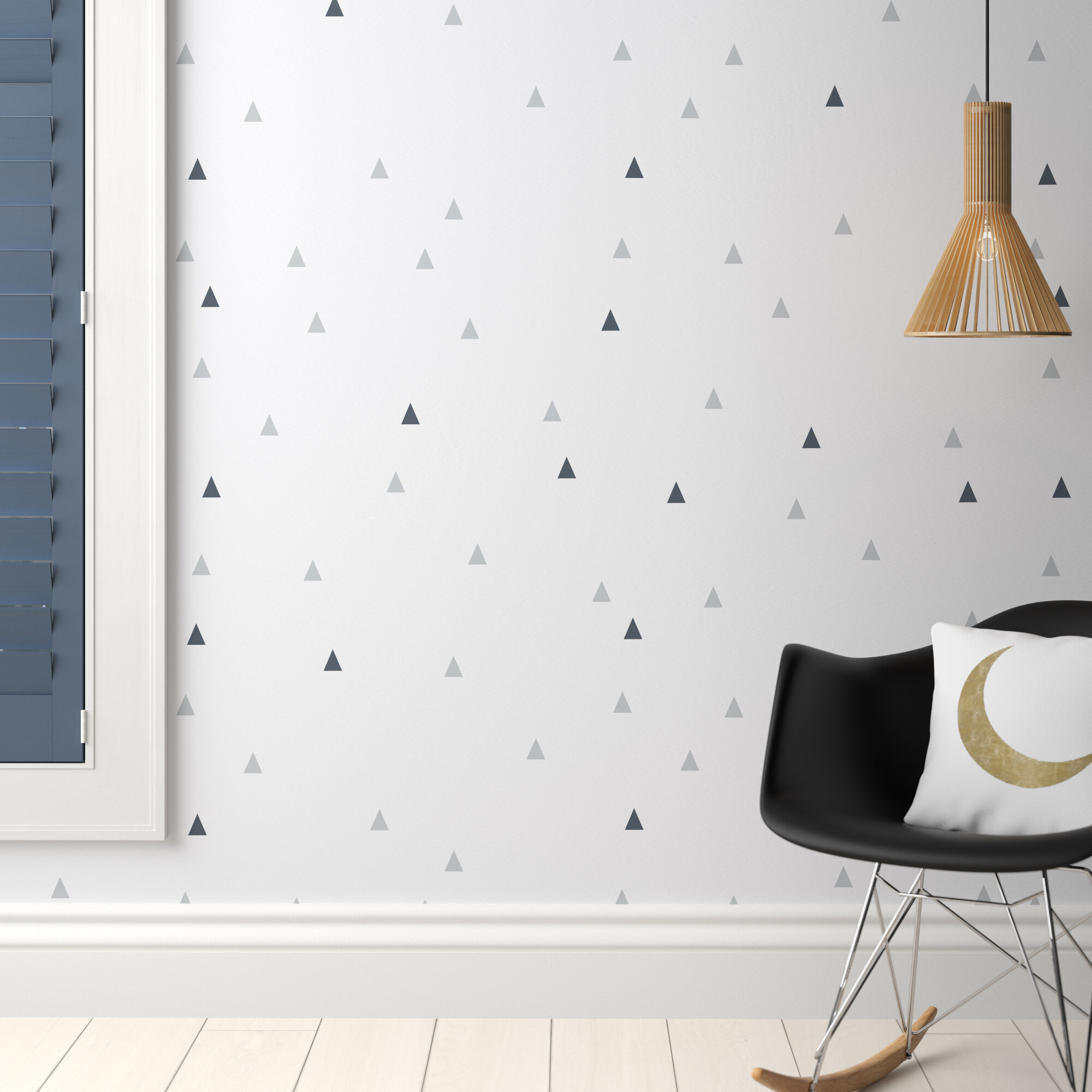 Triangles Wall Stickers Wall Decals
