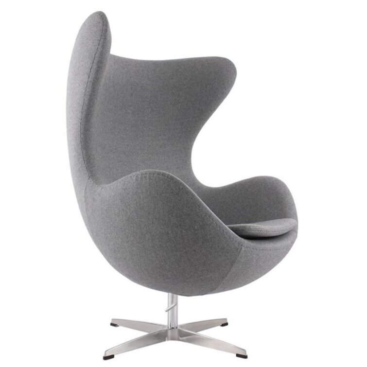 Kinzel 32'' Wide Swivel Wingback Chair
