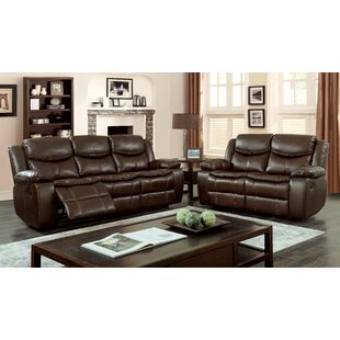 Kyla Reclining 2 Piece Living Room Set by..