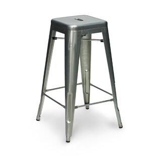 Crose 30 Metal-Galvanized Bar Stool