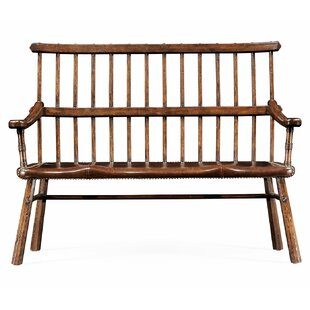 Wood Bench by Jonathan Charles Fine Furniture