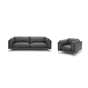 Aisma Leather Standard Configurable Living Room Set By Latitude Run