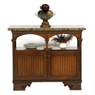 South Perth Kitchen Island with Granite Top by August Grove