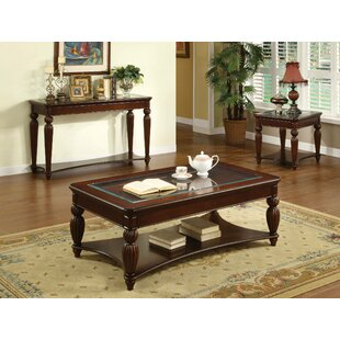 Harbison 3 Piece Coffee Table Set by Fleur De Lis Living
