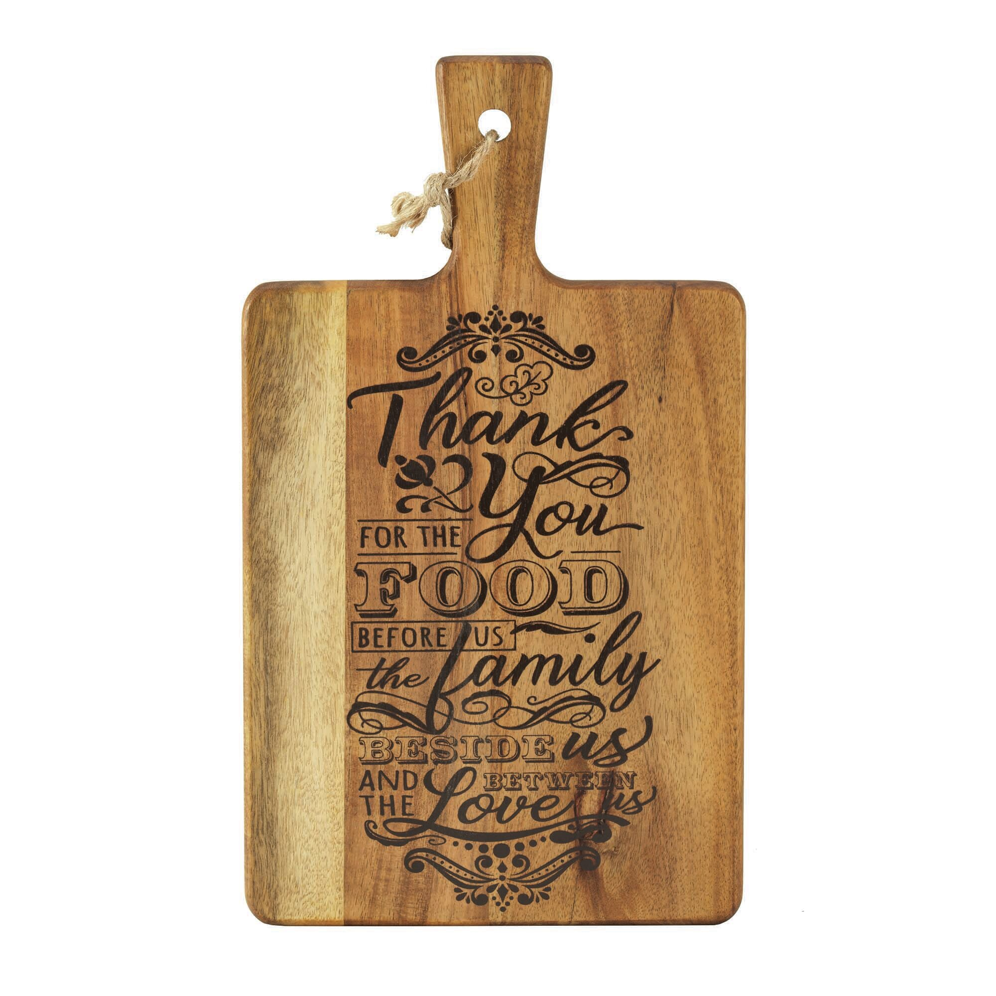 This is us decorative cutting board