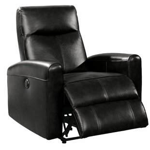 Baggett Leather Power Recliner