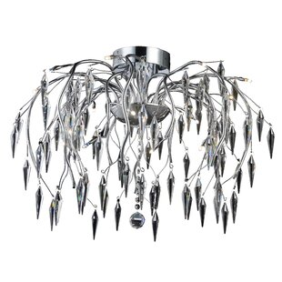 Pressler 16-Light Semi Flush Mount by Orren Ellis