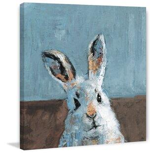 'Bonjour Rabbit' Canvas Art