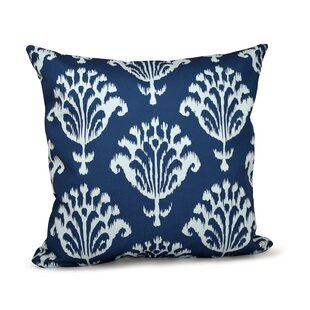 Floral Motifs Decorative Throw Pillow