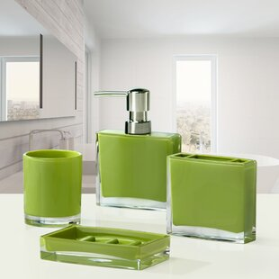 . Lime Green Bathroom Sets   Wayfair