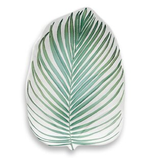 Myrie Leaf Melamine Salad Plate (Set of 6)