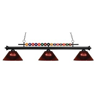 Chapa 3-Light Billiard Light By Red Barrel Studio