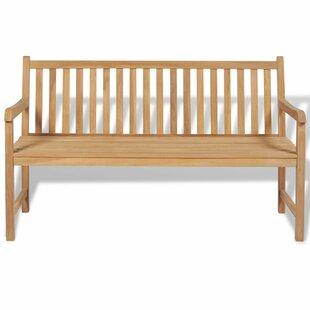 Yateley Outdoor Teak Bench By Sol 72 Outdoor