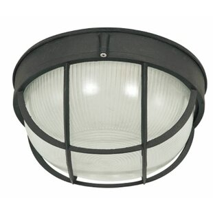 Compare & Buy Highbridge Outdoor Bulkhead Light By Charlton Home