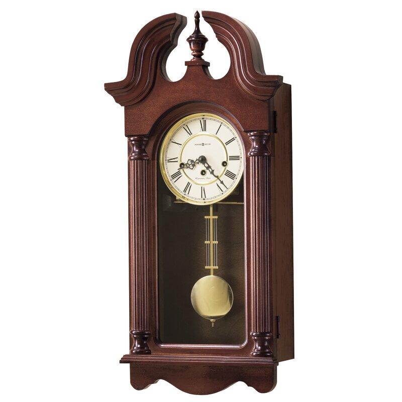 Howard Miller Chiming Key Wound David Wall Clock Wayfair