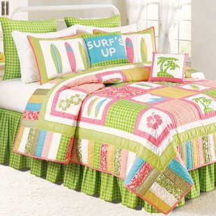 C&F Home Surf''s Up Tropic Quilt