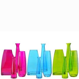 Swim Tapered Glass Table Vase