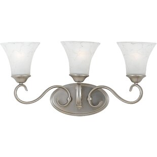 Alluvial 3-Light Vanity Light By Fleur De Lis Living Wall Lights