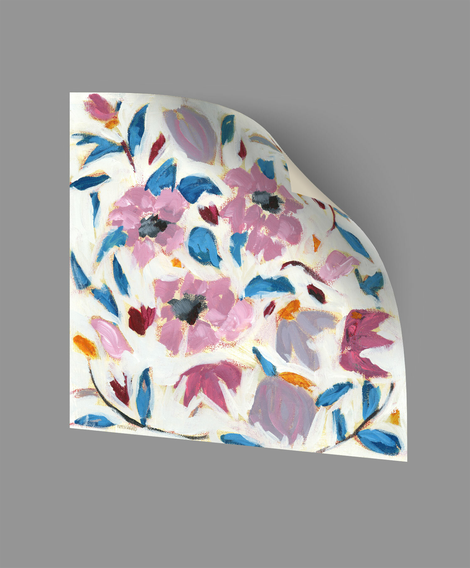 Winston Porter Williamsport Boho Floral Ii Removable Wall Decal Wayfair