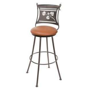 Rosenzweig 25 Swivel Bar Stool Loon Peak