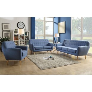 Best Choices Katalina 3 Piece Living Room Set by Corrigan Studio Reviews (2019) & Buyer's Guide