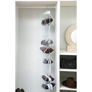 Online Reviews 18 Pair Hanging Shoe Organizer By Rebrilliant