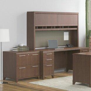 Bush Business Furniture Enterprise 3 Piece Desk Office Suite
