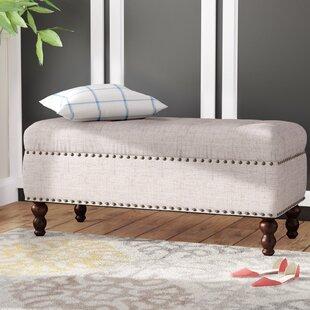 Charlton Home Burbage Upholstered Bench