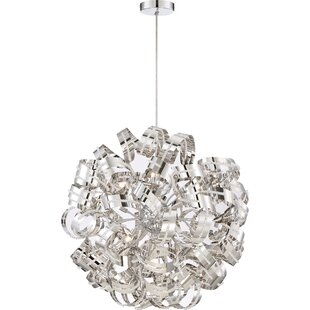Orren Ellis Cooper 12-Light Globe Chandelier