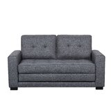 Bray 47.5 Square Arm Sofa Bed by Trule