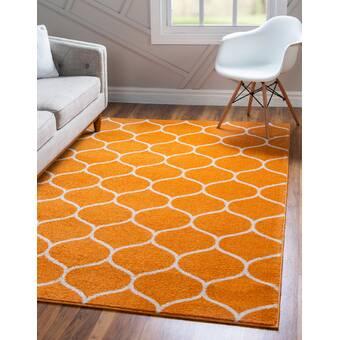 August Grove Elverson Handmade Flatweave Jute Sisal Wool Beige Area Rug Wayfair