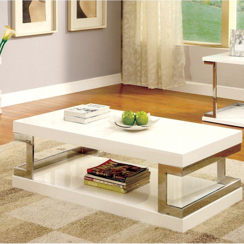 Wright Floor Shelf Coffee Table