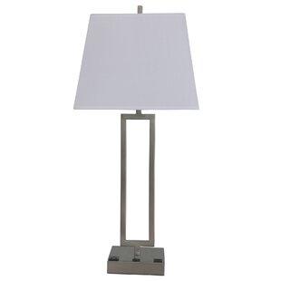 Big Save Phang Tech-Friendly Metal 26 Table Lamp By Orren Ellis