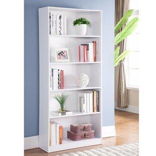 Latitude Run Dipalma Minimalistic Yet Stylish Standard Bookcase