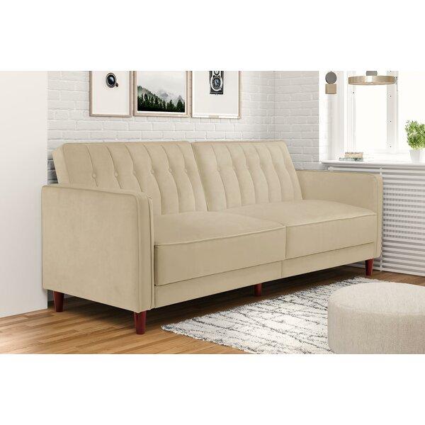 Nia Pin Tufted Convertible Sofa Joss Main