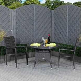 Field 2 Seater Bistro Set By Sol 72 Outdoor