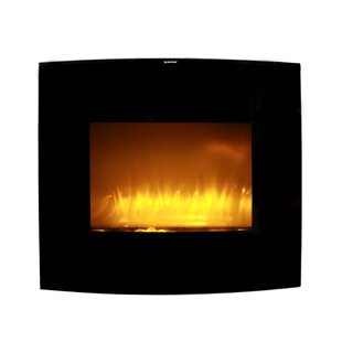 Dumont Wall Mounted Electric Fireplace by Ebern Designs