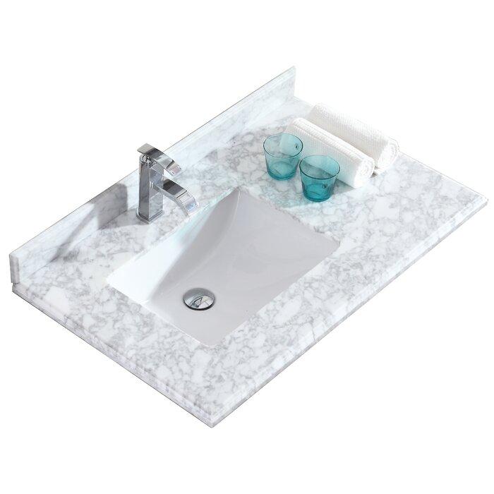 36 Single Bathroom Vanity Top