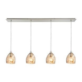 Orren Ellis Victor 4-Light Kitchen Island Pendant