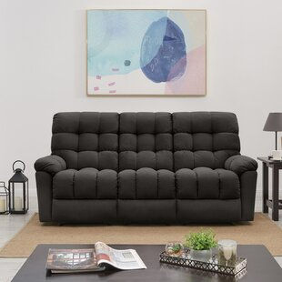 Maye Tufted Reclining Sofa