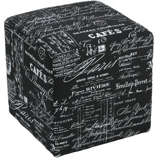 Braque Cube Ottoman by Cortesi Home