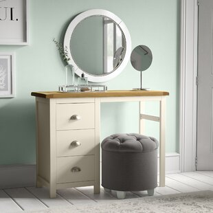 Cheap Price 3 Drawer Dressing Table