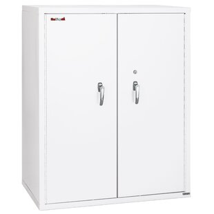 Comparison Fireproof Double Door Storage Cabinet by FireKing