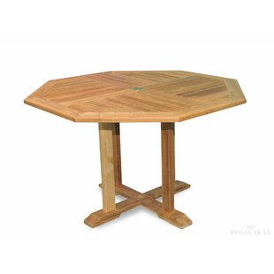 Solid Wood Dining Table by Regal Teak