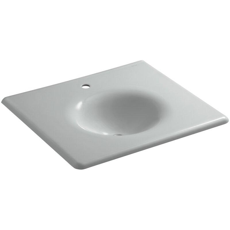 Kohler Iron Impressions 26 Single Bathroom Vanity Top Wayfair