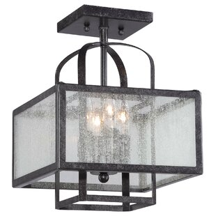 Laurel Foundry Modern Farmhouse Sparks 4-Light Semi Flush Mount
