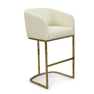 Stevan 29.25 Bar Stool by Everly Quinn