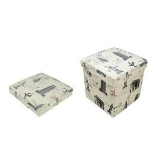 Storage Ottoman by Northlight Seasonal