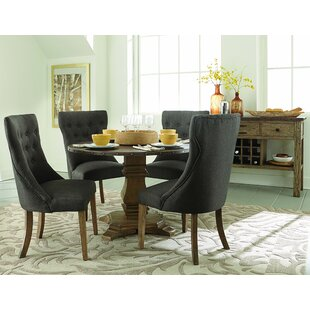 Perryman 5 Piece Solid Wood Dining Set by One Allium Way