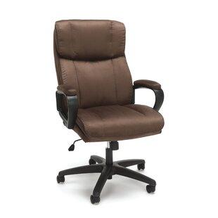 Winston Porter Digby Plush Ergonomic Office Chair
